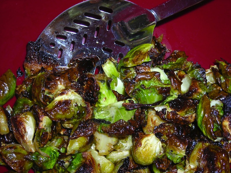 Brussels Sprout Chips | Red-Handled Scissors