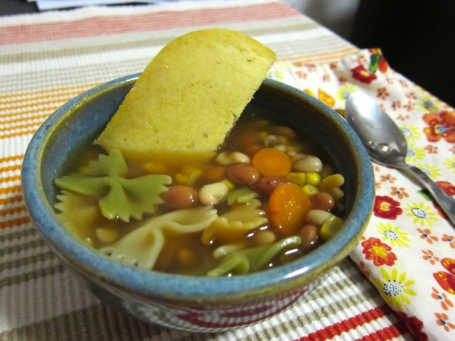 Bean Soup and Cornbread | The Zen of Making