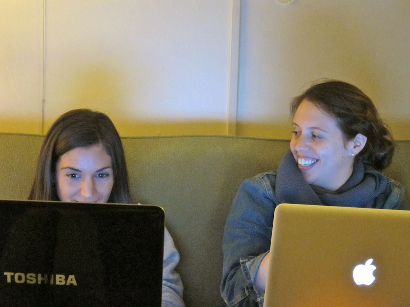 NYC's Newest Bloggers are in My Living Room   Red-Handled Scissors