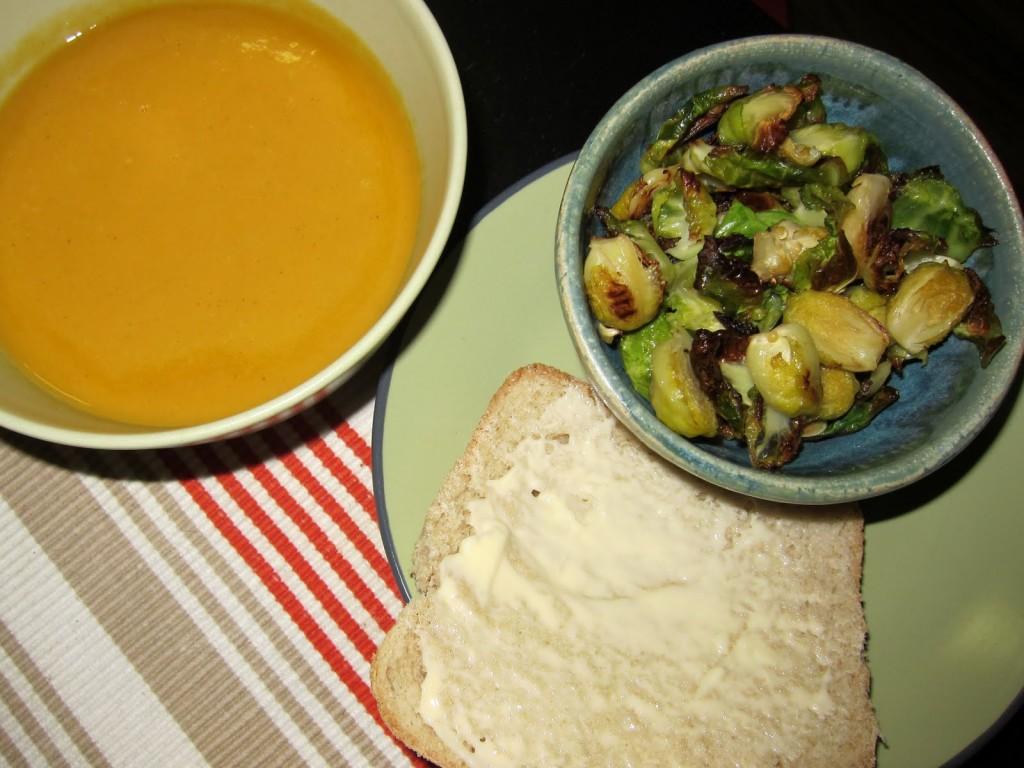 Sunday Snapshot: Sweet Potato Leek Soup | Red-Handled Scissors