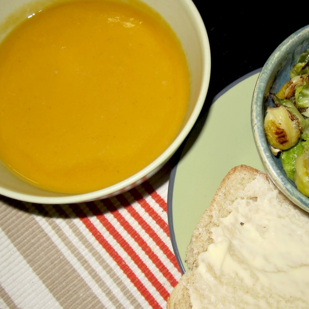 Recipe: Sweet Potato Leek Soup | Red-Handled Scissors