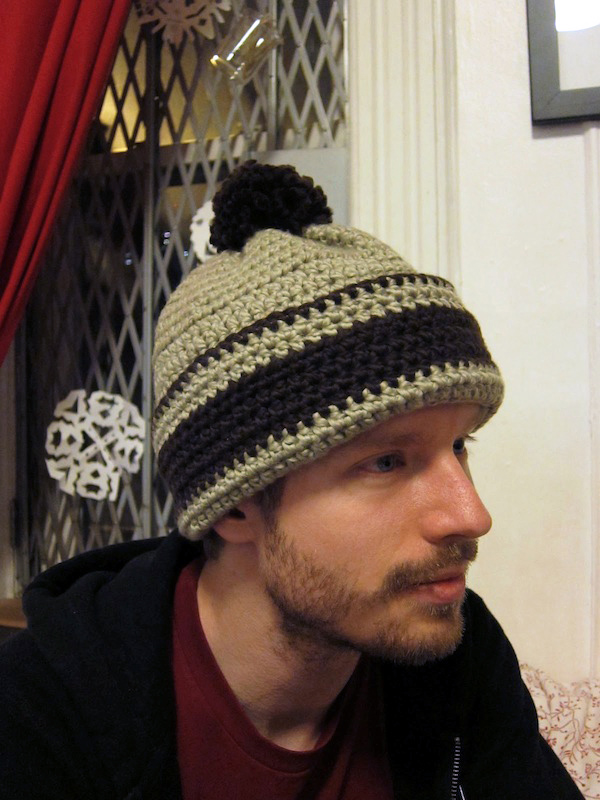 Sunday Snapshot: Jeremy's New Hat | Red-Handled Scissors