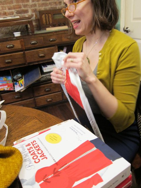 Ignore the Awkward Look on My Face, Just Check Out the Book! | Red-Handled Scissors