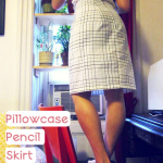 Pillowcase Pencil Skirt