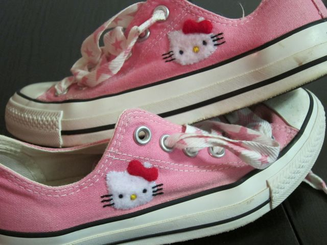 Sunday Snapshot: Mother's Day Hello Kitty Shoes | Red-Handled Scissors