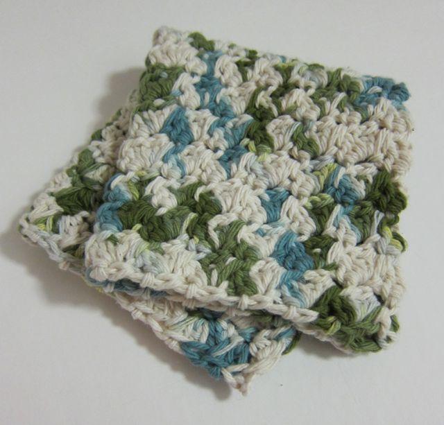 Crochet Washcloth : The Luxury of Handmade Crocheted Washcloths The Zen of Making