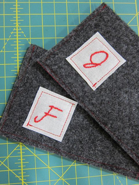 Tutorial: Felt Glasses Case | Red-Handled Scissors