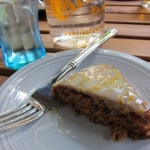 Sunday Snapshot: Happy Herbivore Rum Cake | Red-Handled Scissors