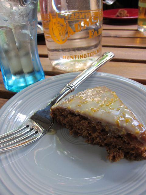Sunday Snapshot: Happy Herbivore Rum Cake | Red-Handled Scissors