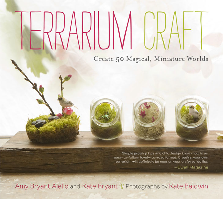 Giveaway: Win a Copy of TERRARIUM CRAFT! | Red-Handled Scissors
