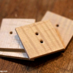 Tutorial: Make Your Own Wooden Buttons | The Zen of Making