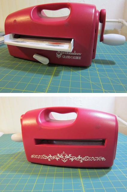 Review: Cutting Fabric with Spellbinders Grand Calibur for Craft Test Dummies | The Zen of Making