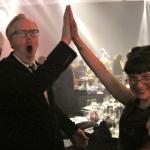 Sunday Snapshot: Emmy MythBuster High Five | Red-Handled Scissors