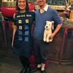 TARDIS and Tin Tin Costumes