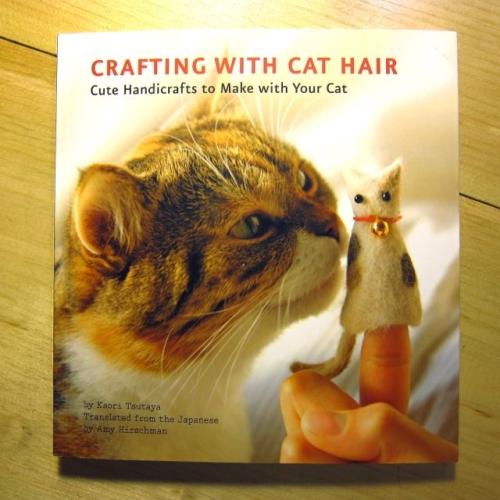 Crafting Cat Hair Cute Handicrafts