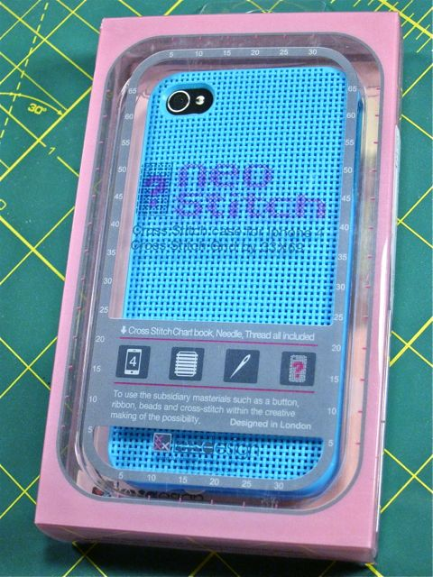Review: Cross-Stitch iPhone Case for Craft Test Dummies | Red-Handled Scissors
