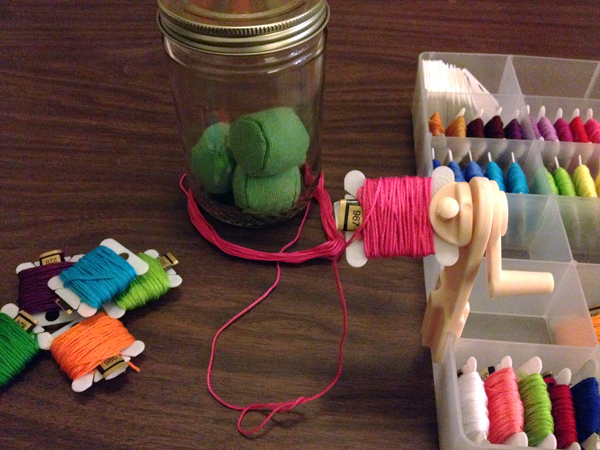 Organize: Embroidery Floss | The Zen of Making