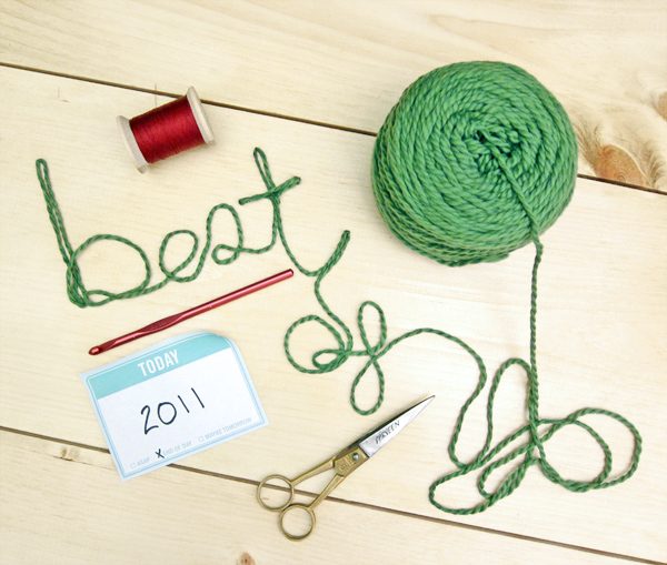 Top Five Tutorials of 2011 | Red-Handled Scissors
