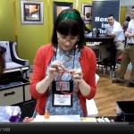Video: DIY Bumper Headbands at CHA | Red-Handled Scissors