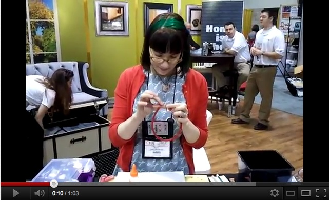 Video: DIY Bumper Headbands at CHA | Red-Handled Scissors