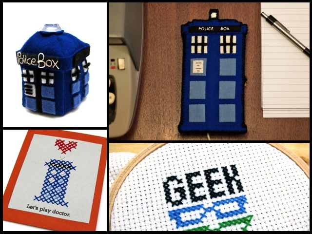 Big Geeky Announcement: I'm Writing a Geek Crafts Column for FaveCrafts! | Red-Handled Scissors