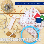 TZoM Top 5: Must-Have Embroidery Tools