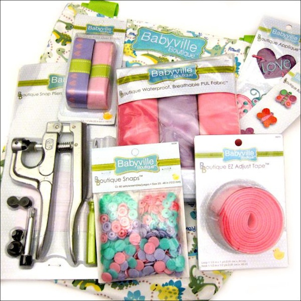 Review: Babyville Boutique Sewing Line | Red-Handled Scissors