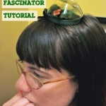 Tutorial: Make a Terrarium Fascinator with Your Own Hair | Red-Handled Scissors