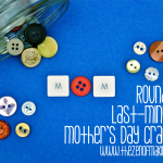 Roundup: Last-Minute Mother's Day Crafts | Red-Handled Scissors