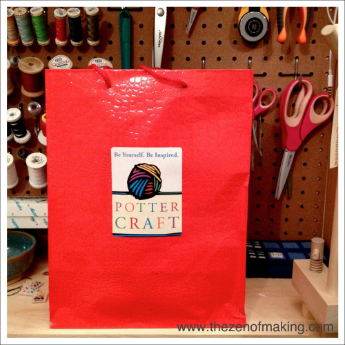 Potter Craft and Potter Style Crafternoon Book Event | Red-Handled Scissors