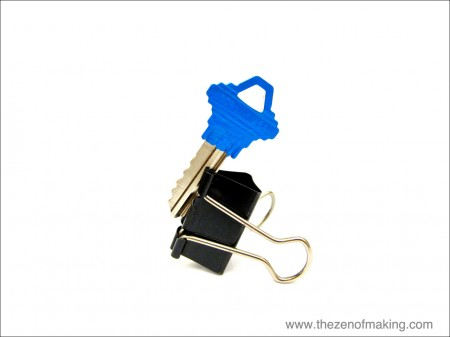 Tutorial: Painted TARDIS Keys | The Zen of Making