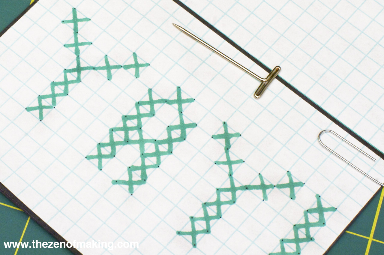 craft tip  perfect cross