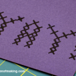 Craft Tip: Perfect Cross-Stitch Stamp Placement | The Zen of Making