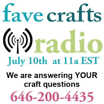Tomorrow: TZoM and Team CTD on FaveCrafts Radio! | Red-Handled Scissors