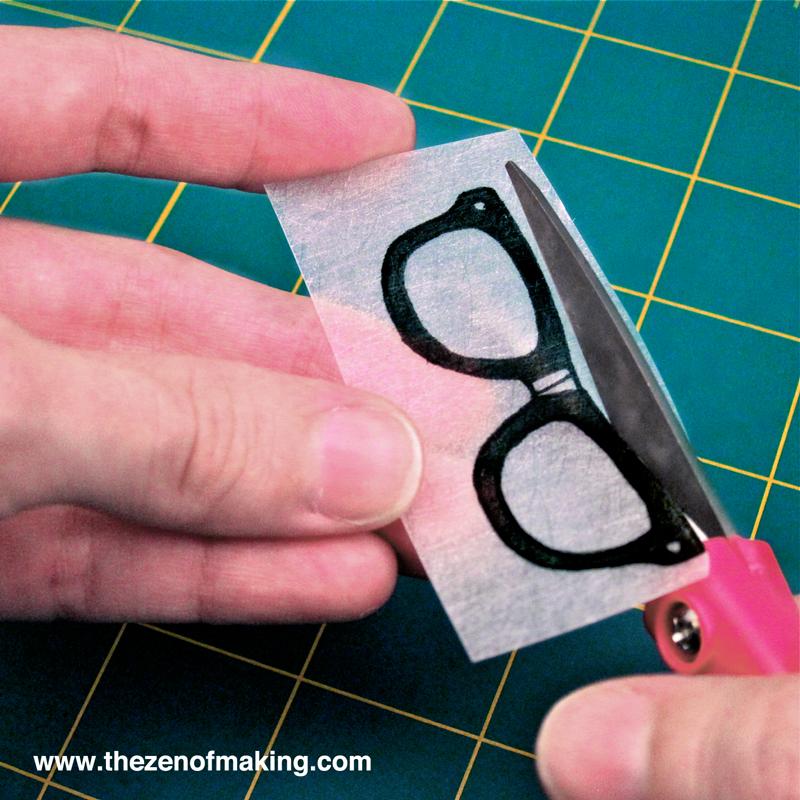 Nerd Glasses Cut Out Template Shrink_plastic_nerd_glasses_ne ...