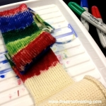 Video: Dyeing Yarn with Sharpie Markers at Lion Brand Yarn | Red-Handled Scissors