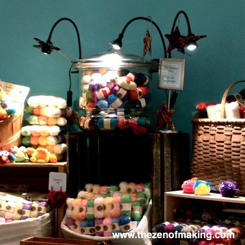 Sunday Snapshot: Lion Brand Yarn Party - BlogHer 2012 | The Zen of Making