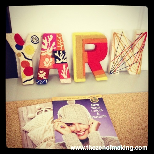 Sunday Snapshot: Lion Brand Yarn Party - BlogHer 2012 | Red-Handled Scissors