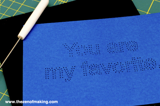 Tutorial: Embroidered Typography Wall Art | Red-Handled Scissors