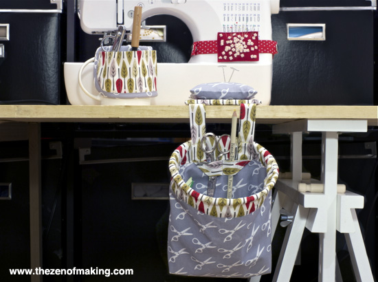 Review: Kwik Sew Organizer Patterns | The Zen of Making