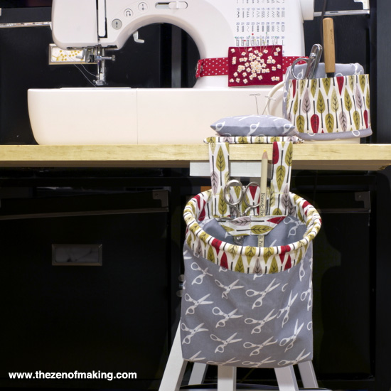Review: Kwik Sew Organizer Patterns | Red-Handled Scissors