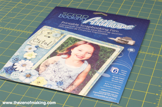 Tutorial: Embroidered Needle Case with Scrapbooking Attitude | The Zen of Making