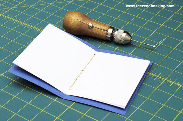 Tutorial: Sewing Awl Bookbinding | The Zen of Making