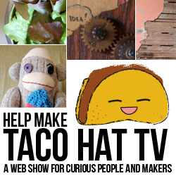 Love DIY? Support Taco Hat TV! | Red-Handled Scissors