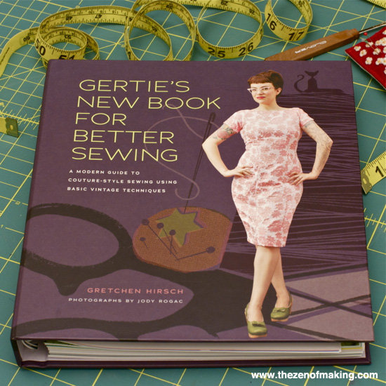 Review: Gertie's New Book for Better Sewing | Red-Handled Scissors