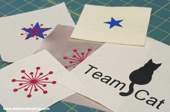 Review: Neenah EPC™ Film Cuttable Heat Transfer Film for Craft Test Dummies | Red-Handled Scissors