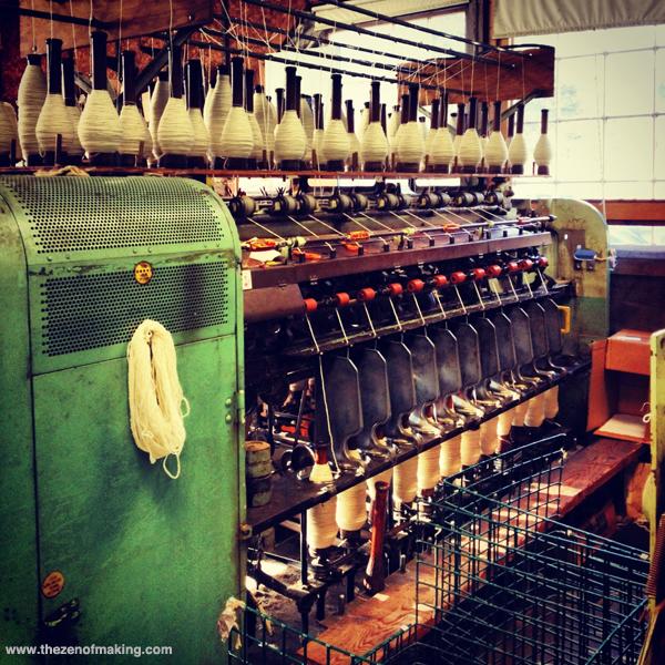 Sunday Snapshot: Green Mountain Spinnery   Red-Handled Scissors