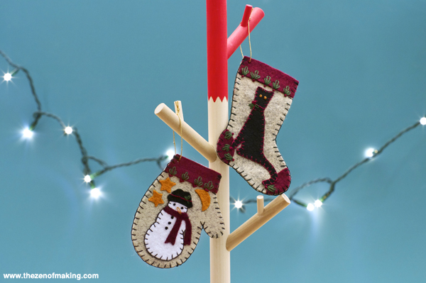 Review: Christmas Woolens Ornament Kit from Rachel's of Greenfield | The Zen of Making