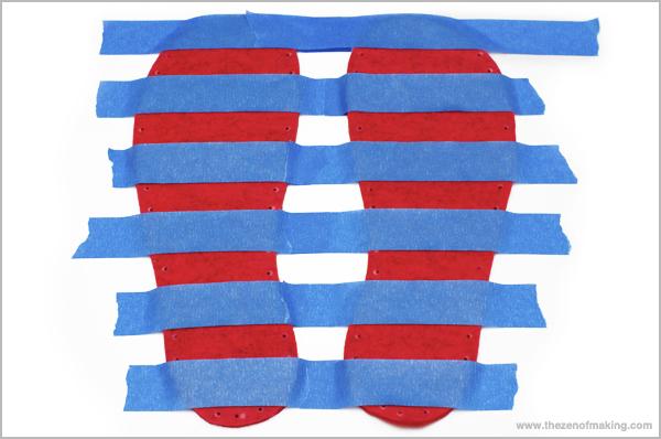Tutorial: Fancy Felt Soles for Crocheted Slippers   Red-Handled Scissors