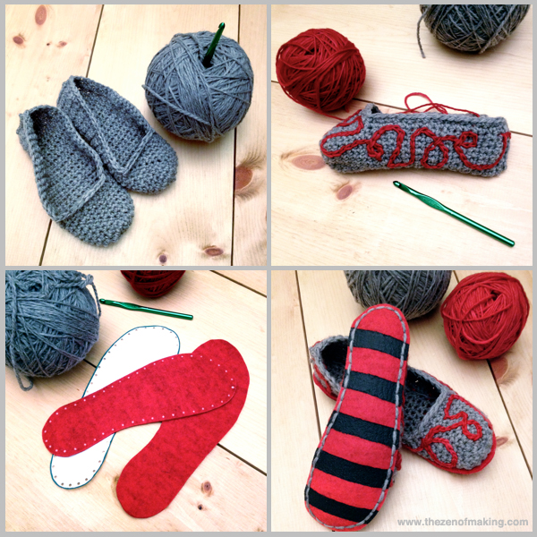 Sunday Snapshot: Crocheted Slippers Obsession | Red-Handled Scissors